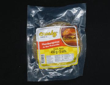 Carne de hamburguesa en Bogotá