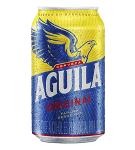 Cerveza Aguila en Bogotá