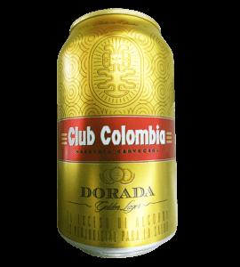Club Colombia dorada en Bogotá