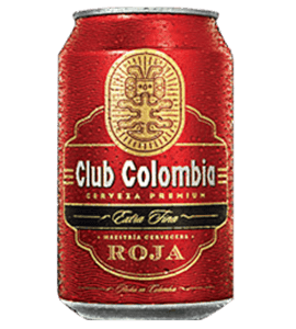 Club Colombia roja en Bogotá