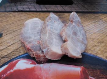 Espinazo de cerdo en Bogotá